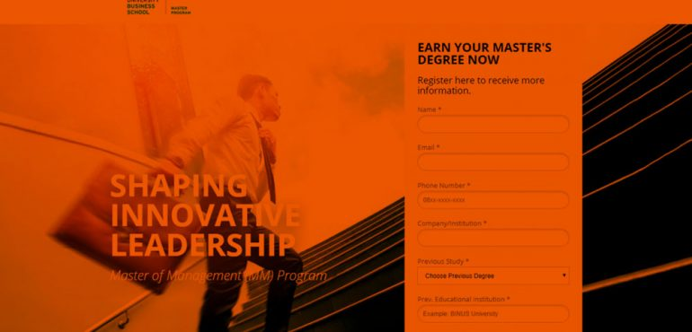 HERONOTES - BINUS BUSINESS SCHOOL- GENERATING QUALIFIED LEADS FOR MM PROGRAM